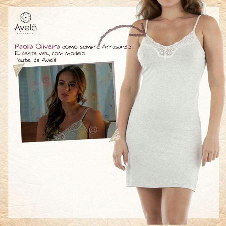 Paolla Oliveira arrasando com lingerie da Avelã! Modelo Luiza: R$ 115. Disponível em www.avela.com.br: