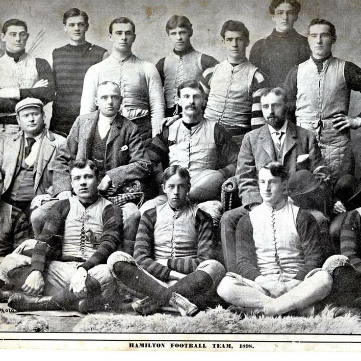 1898 Hamilton Football Team