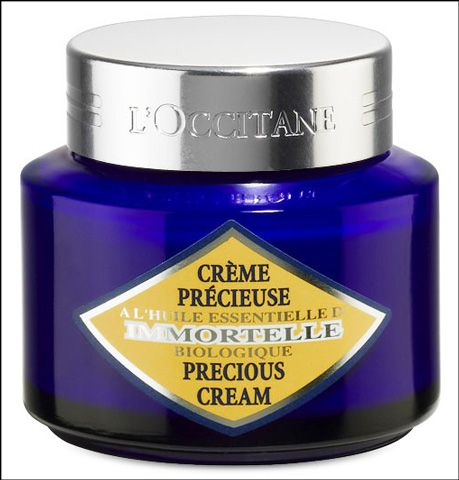 At L'Occitane buy best selling Precious Cream 50ml with a new triple action formula and higher concentration of active molecules for just £46.