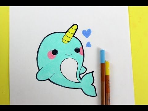 HappyDrawings - DRAW CUTE THINGS - KAWAII DIY - YouTube