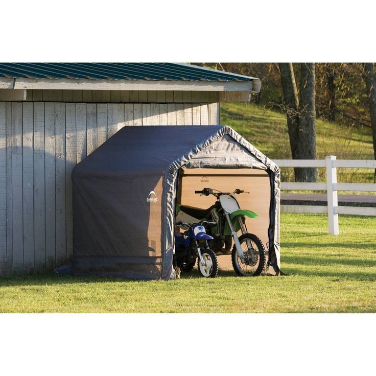 Motorcycle Metal Canopy : Best outdoor storage sheds ideas on pinterest shed