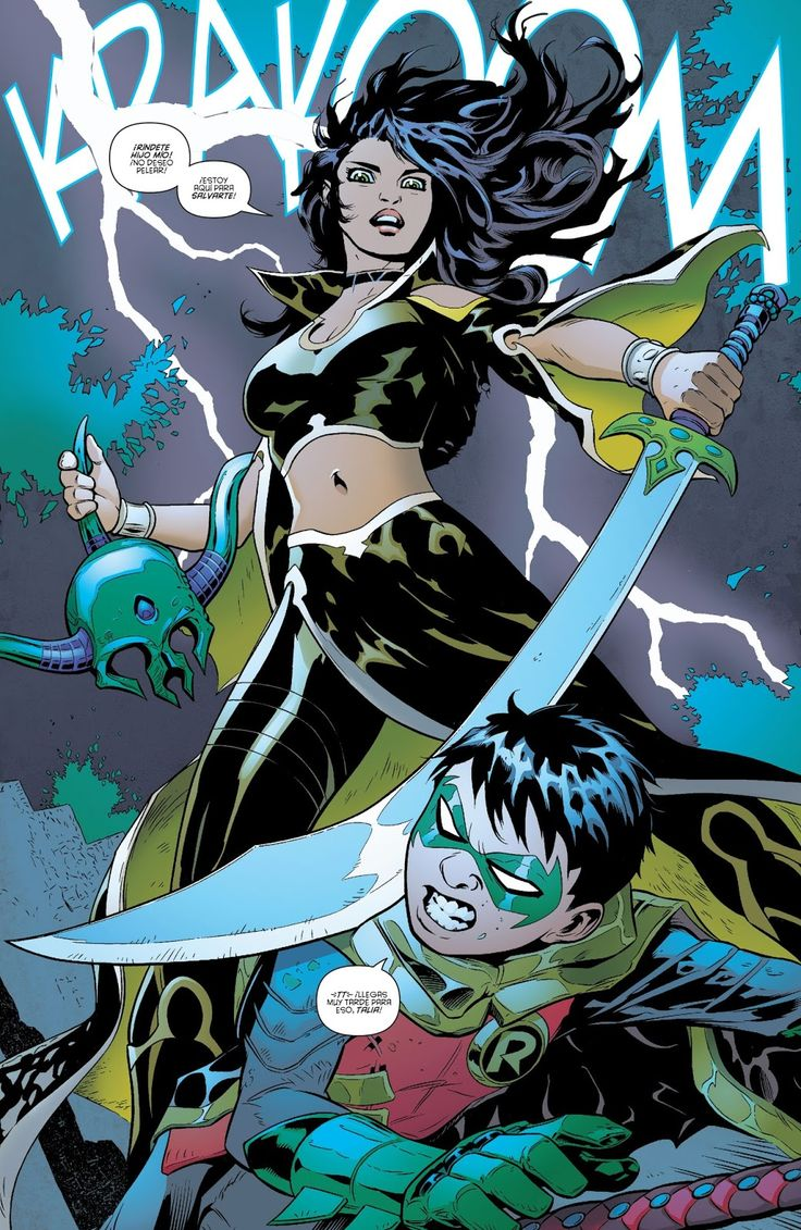 Leer Comics Online : Robin - Son of Batman 5 - Año de sangre 5