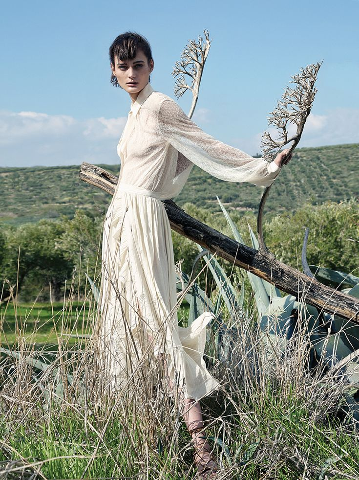 sibui nazarenko by thomas krappitz for elle germany february 2016   visual optimism; fashion editorials, shows, campaigns & more!