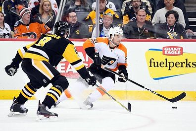 Happy New Year! The Flyers are back in action tonight against those hated Pittsburgh Penguins TJ Brennan recorded his 400th point Morgan Frost and Wade Allison are tearing up their respective leagues and prospects are battling for medals at the World Junior Championships. Miss anything else over the holiday? Check out the website for more. Link in bio! #sonsofpenn #flyers #flyersnation #philadelphiaflyers #nhl #philadelphia #penguins #phantoms #worldjuniors #wjc2018 #ahl