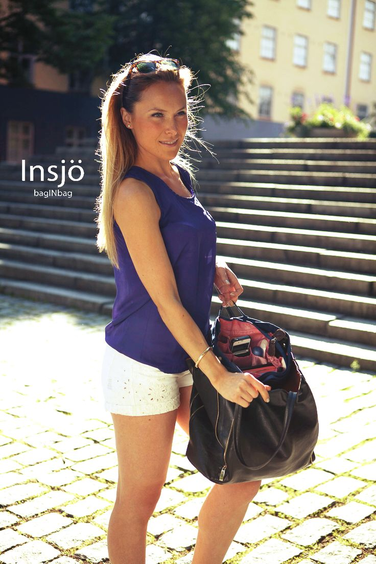 Summer is not over yet! Enjoy summer with a well organized handbag ;)