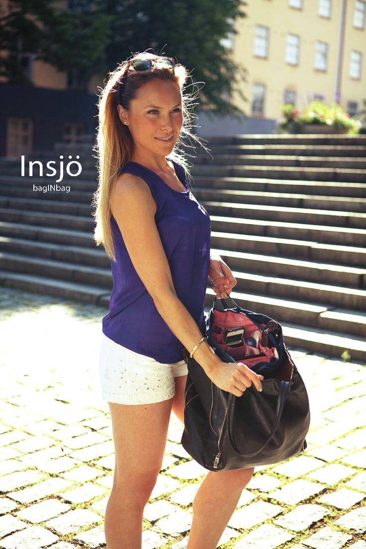 Summer is not over yet! Enjoy summer with a well organized handbag ;)