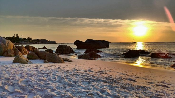 Clifton beach, Cape Town sunset - 20 best beaches in South Africa