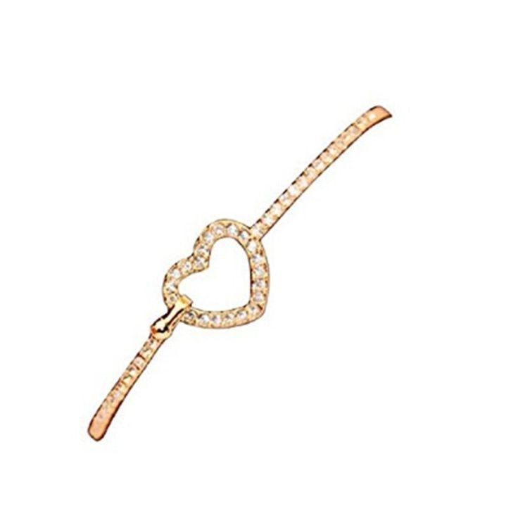 Der Spielzeugtester hat das Elistelle Armband Gold Damen Schmuck Herz Muster Arm… – Spielzeugtester
