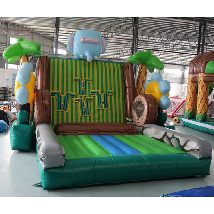 Wholesale toys kids new castle inflatable moon jump outdoor inflatable castle