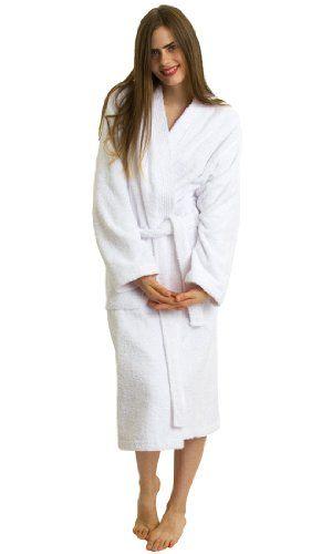 TowelSelections Turkish Terry Kimono Bathrobe - 100% Turkish Cotton