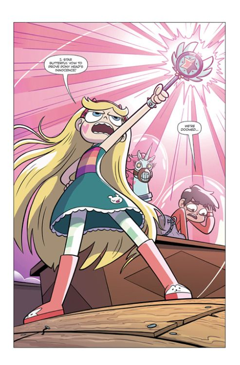 The NEW original Star vs the Forces of Evil monthly comic book series comes out today! I'm SO excited! These comics are wonderfully written by Zach Marcus and beautifully illustrated by Devin Taylor! Both work on Star! Ask for them at your local...