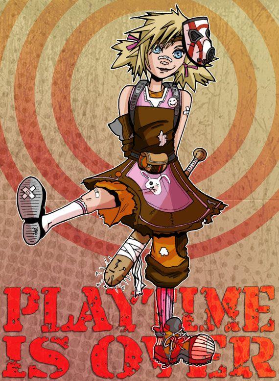 Play Time Is Over  Tiny Tina Borderlands 2 by ArtOfAnastasiaCatris, £5.00