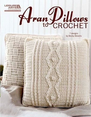 Maggie's Crochet · Aran Pillows to Crochet