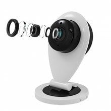 The Wireless Monitoring Network HD Camera Night Vision WiFi Smart Home Mobile Phone Remote Small Drops of Water