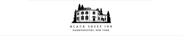 Black Sheep Inn, Finger Lakes, NY