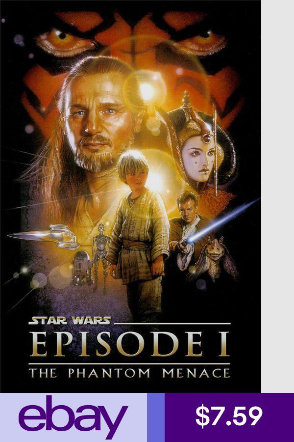 Star Wars Episode I 1 The Phantom Menace Wall Movie Poster