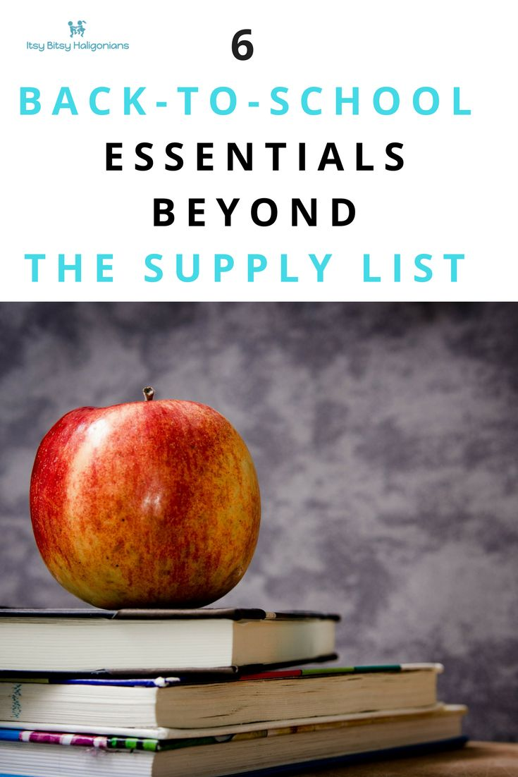 Back to school may require shopping from a boring supply list, but these essential items give you a chance to let your kids show off their personality and style!