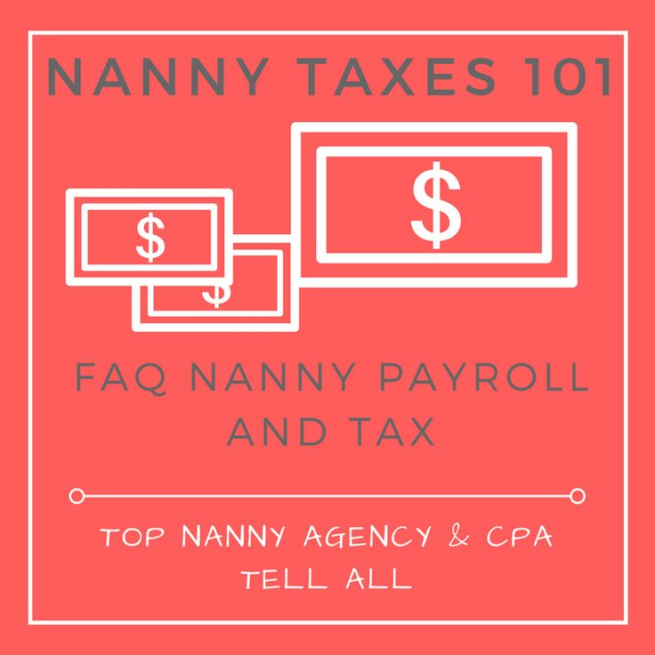 As the best nanny agency in Seattle, we love to share expert information! We reached out to Seattle nanny tax expert, JJ Horner, to help answer your FAQ. #nanny #nannylife #nannytax #nannypayroll #howto #nannytips #nannysalary