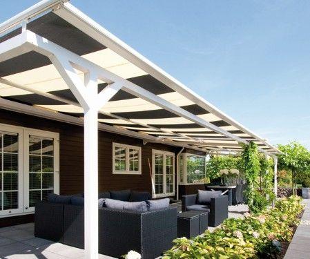 Pergola 39 s en pergola systemen van ambiance zonwering garden pinterest originals products - Aluminium pergola met schuifdeksel ...