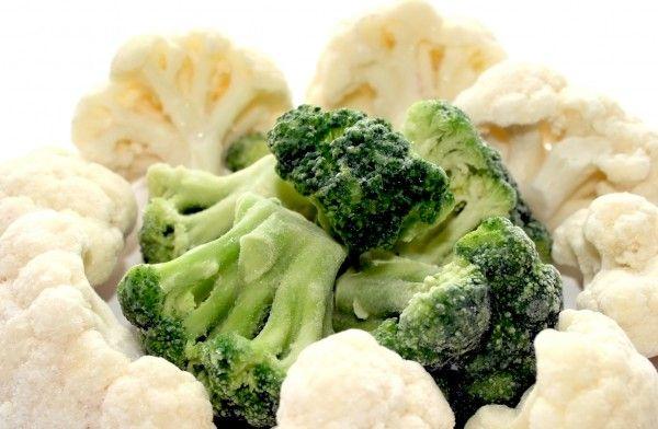 Как заморозить цветную капусту и брокколи на зиму