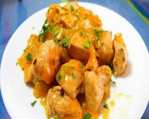 Pollo a la naranja - fácil