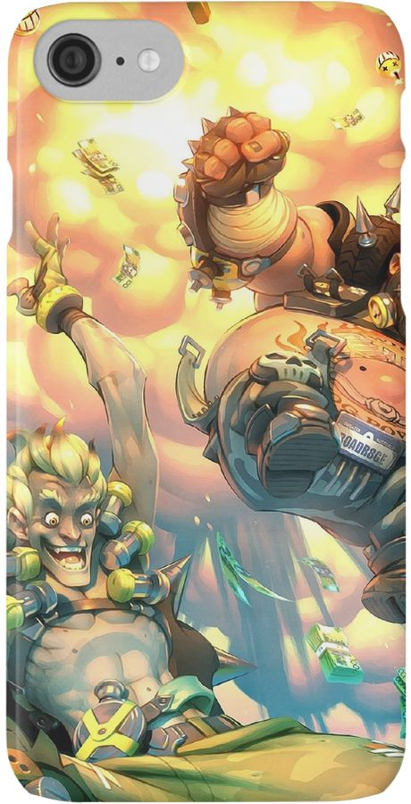 Overwatch | Junkrat and Roadhog | Phone cases by gamevault