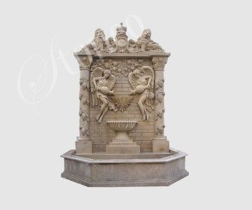 Terrassa - fontanna