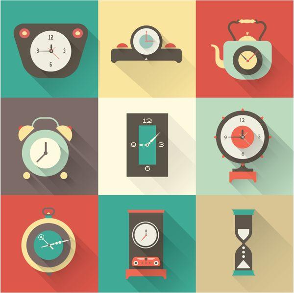 Flat Icons by Irina Kerasoshvili, via Behance#mobile #design