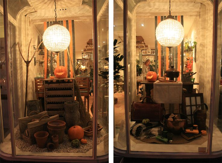 hege greenall scholtz halloween window halloween windowhalloween ideasbooth ideasdisplay ideas - Halloween Display Ideas