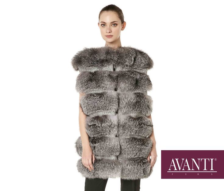 AVANTI FURS - MODEL: SEXTON 2 FOX VEST #avantifurs #fur #fashion #fox #luxury #musthave #мех #шуба #стиль #норка #зима #красота #мода #topfurexperts