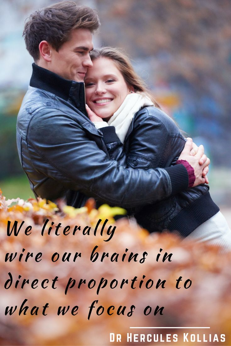"""""""We literally wire our brains in direct proportion to what we focus on"""" Dr Hercules Kollias #Readyforloveagain #RelationshipQuote Watch video - https://www.youtube.com/watch?v=J5ZPlZTVvFk  Do Course - http://www.readyforloveagain.com"""