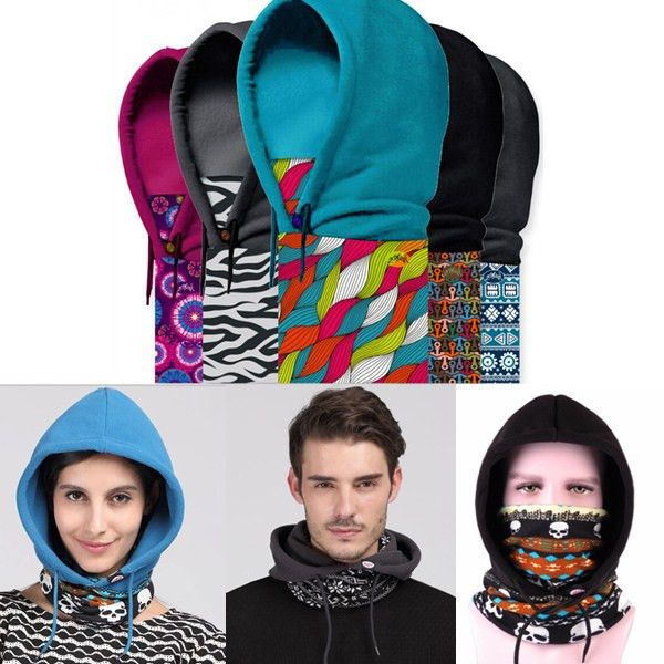 Polar Fleece Sports Motorcycle Bike Balaclava Ski Face Dust Mask Hood Hat Warmer