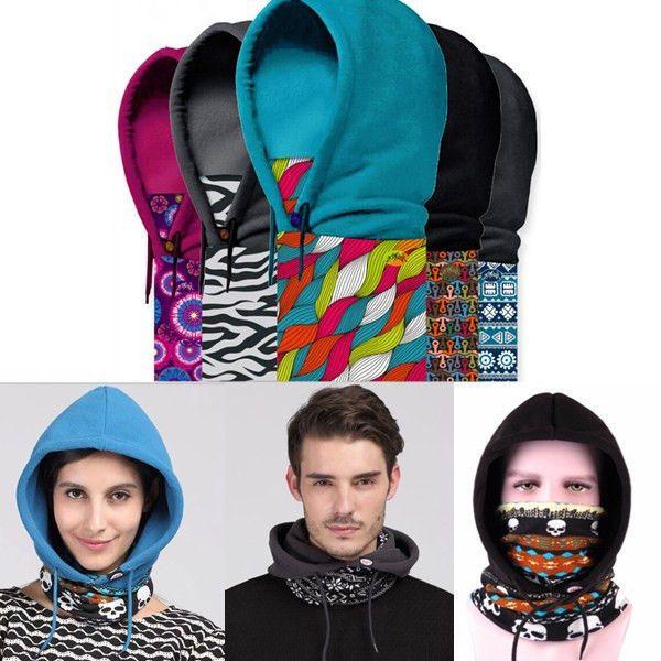 Polar Fleece Sports Motorcycle Bike Balaclava Ski Face Dust Mask Hood Hat Warmer