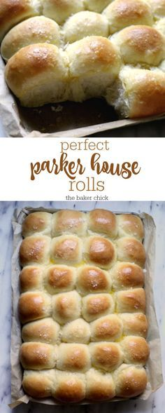 Perfect Parker House Rolls