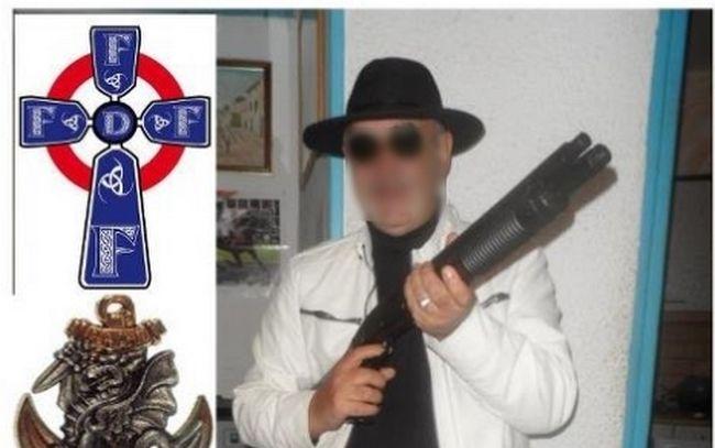 groupuscule ultra extreme droit nazi haine raciale appel meurtre lutte armée photo