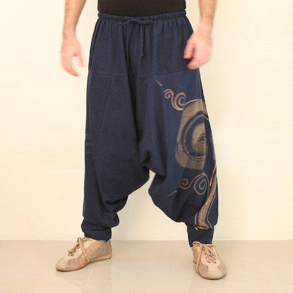 Baggy Hosen Haremshose Aladin Hose Yogahose von MyThaiFisherman auf DaWanda.com