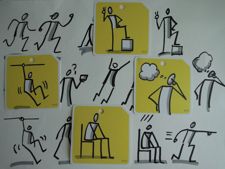 Bikablo Icons : Actions 그리기 - drawing