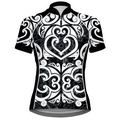new fav short-sleeve jersey from primalwear.com Maori Black Women's Cycling Jersey