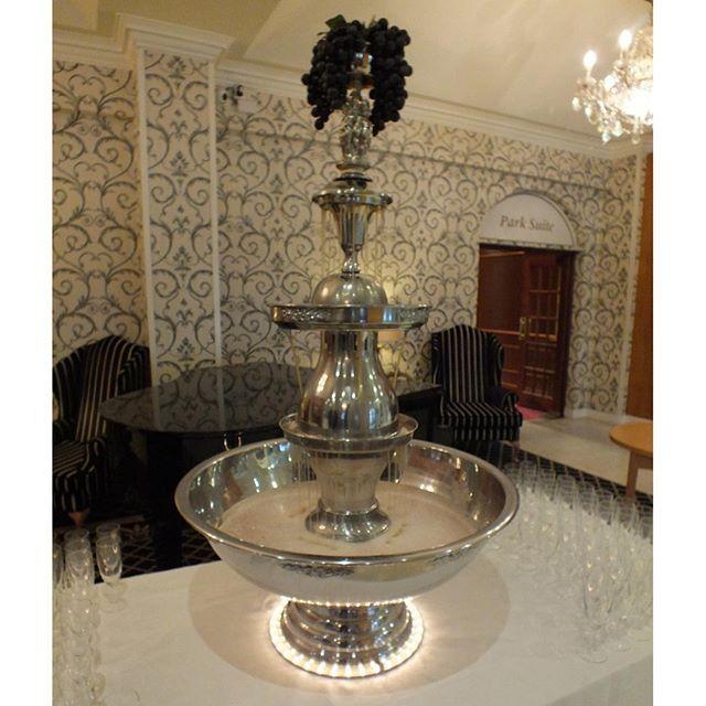 Wedding Punch Ideas: 57 Best Wedding Champagne Fountain Recipes & Decor Set-Up