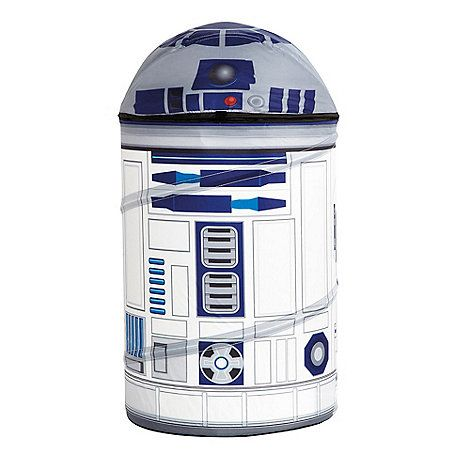 Bring the movie to life in an instant with his very own ReadyRoom Star Wars R2-D2 Pop Up Storage. Perfect for storing all your little Jedi's lightsabers and toys, he'll love knowing that his trusted freind R2-D2 is always nearby. The storage is tested to the highest child safety standards considering features like the size, height and weight.  The clever pop up system means it is easy to pop up and easy to fold away when not required and comes with instructions to show you how. Part o...