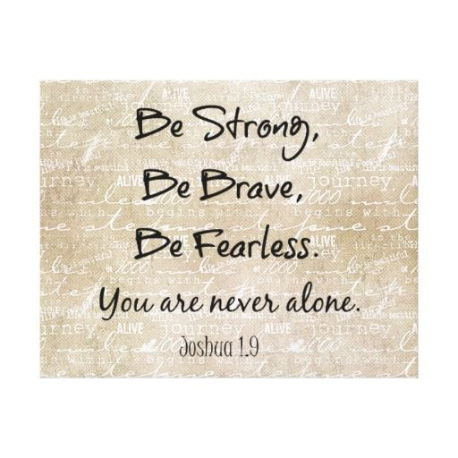 bible verses about bravery - Google Search