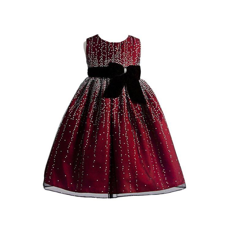 Christmas dress for little girls