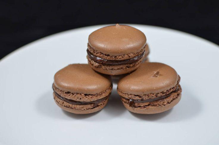 Schokoladen Macarons – Momsdish