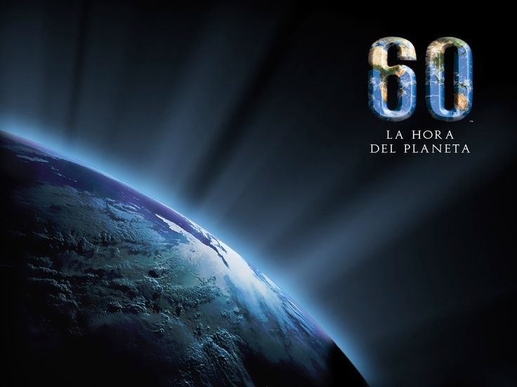 The Earth Hour - March 31 8:30 p.m.