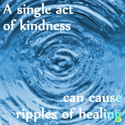 Kindness can have far-reaching effects