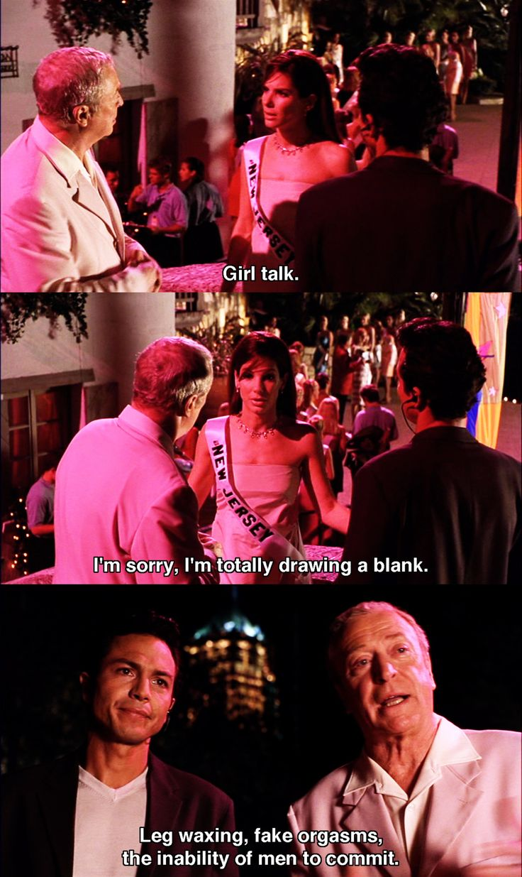 Girl talk ~ Miss Congeniality (2000) ~ Movie Quotes #amusementphile