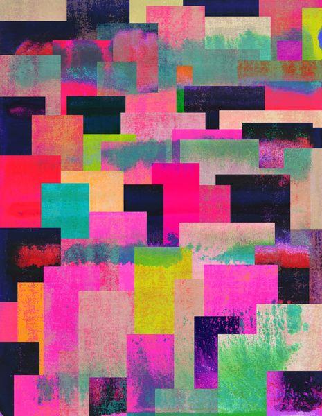 colour + pattern 4 Art Print by Georgiana Paraschiv | Society6
