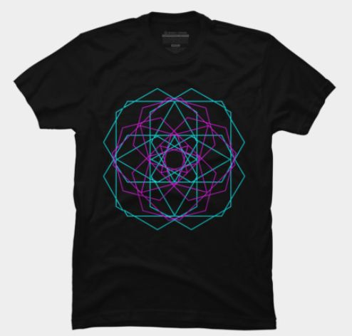 """Geometry of Cosmos "" T-Shirt by Scar Design   #geometric #design #tshirt #geometrictshirt #cooltshirts #buygeometrictshirt #cubic #scardesign #onlineshopping #gifts #geometricgifts #giftsforhim #giftsforher #designbyhumans #geometryofcosmos #cosmos #sacredgeometry"