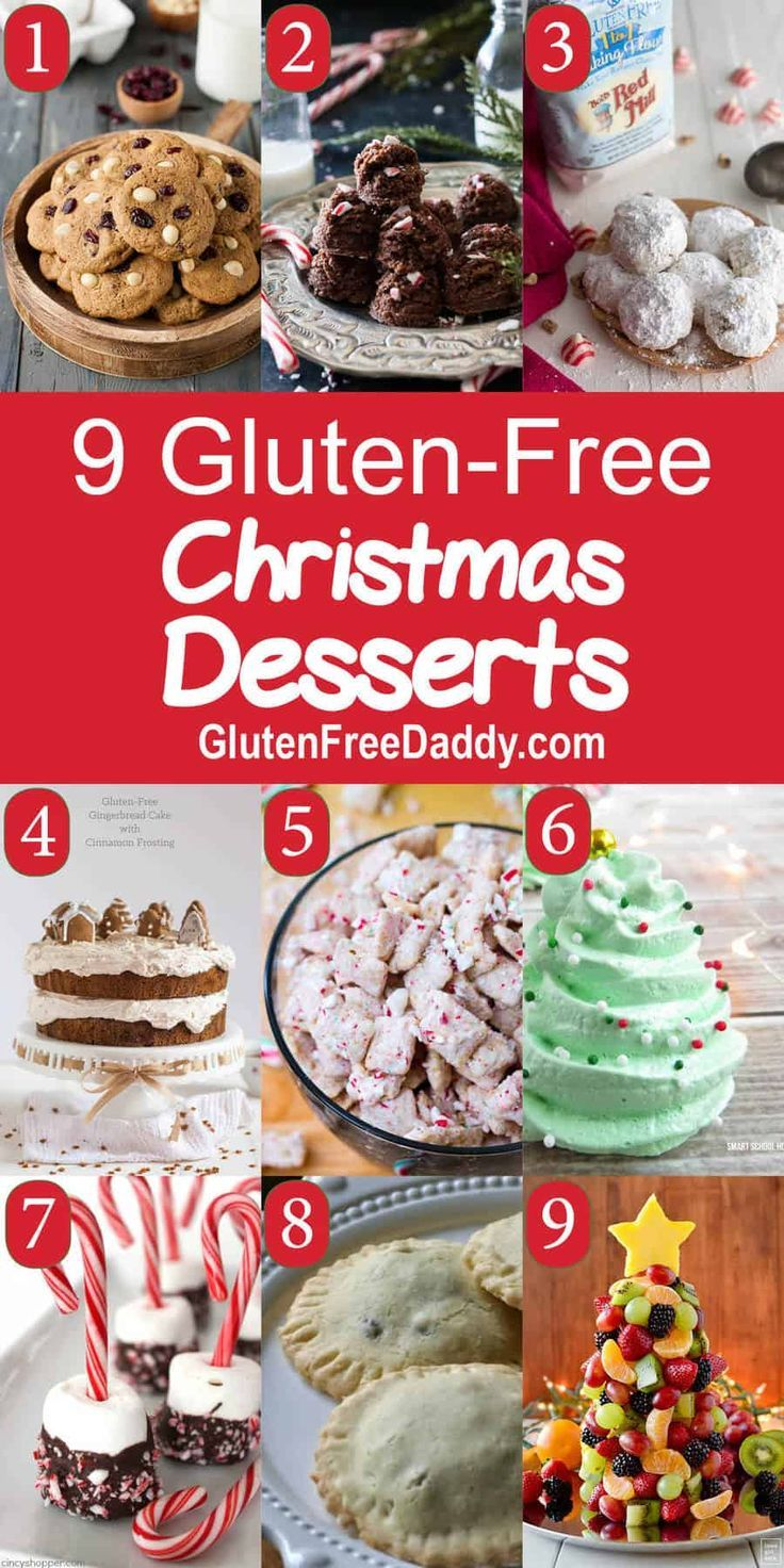 Gluten Free Christmas Desserts Recipes Gluten Free Christmas