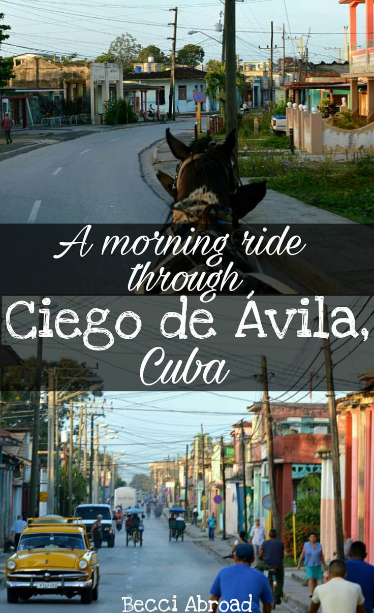 Through this photo itinerary of a morning in Ciego de Ávila (Cuba) you get a unique insight to the authentic everyday life in Cuba.